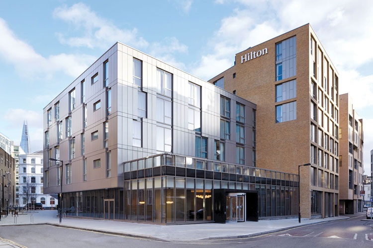 Hilton London Bankside electrical contract