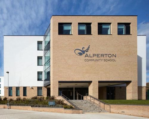 Alperton-Community-School - electrical contract